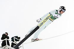 February 8, 2019 - Lahti, Finland - PaweÅ' SÅ'owiok competes during Nordic Combined, PCR/Qualification at Lahti Ski Games in Lahti, Finland on 8 February 2019. (Credit Image: © Antti Yrjonen/NurPhoto via ZUMA Press)