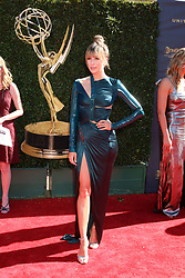 April 30, 2017 - Pasadena, CA, USA - LOS ANGELES - APR 30:  Renee Bargh at the 44th Daytime Emmy Awards - Arrivals at the Pasadena Civic Auditorium on April 30, 2017 in Pasadena, CA (Credit Image: © Kathy Hutchins/via ZUMA Wire via ZUMA Wire)