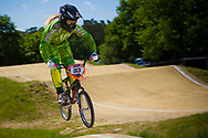 #93 (STEVAUX CARNAVAL Priscila) BRA at the UCI BMX Supercross World Cup in Papendal, Netherlands.