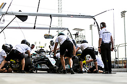 April 6, 2018 - Sakhir, Bahrain - Motorsports: FIA Formula One World Championship 2018, Grand Prix of Bahrain,#77 Valtteri Bottas (FIN, Mercedes AMG Petronas) (Credit Image: © Hoch Zwei via ZUMA Wire)