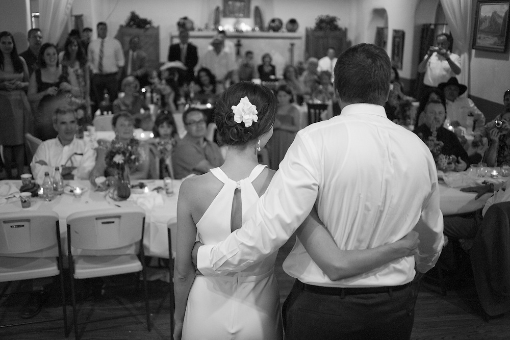 Megan and Michael Radigan's wedding on June 18, 2011 in at the San geronimo Lodge in Taos New Mexico.