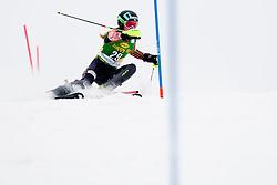 PHELANBrittany of Canada during 1st Run of 50th Golden Fox Audi Alpine FIS Ski World Cup Ladies Slalom, on February 2, 2014 in Podkoren, Kranjska Gora, Slovenia. (Photo By Urban Urbanc / Sportida.com)