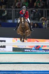 Davis Lucy (USA) - Barron<br /> Longines FEI World Cup™ Jumping Final 2013/2014<br /> Lyon 2014<br /> © Dirk Caremans