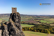 Trosky Castle in Liberec Region of the Czech Republic