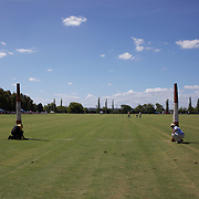 'A Day at the Polo'<br /> Ground staff prepare the field for competition during the International Polo Test match between Australia and England at the Windsor Polo Club, Richmond, Sydney, Australia on March 29, 2009. Australia won the match 8-7.  Photo Tim Clayton