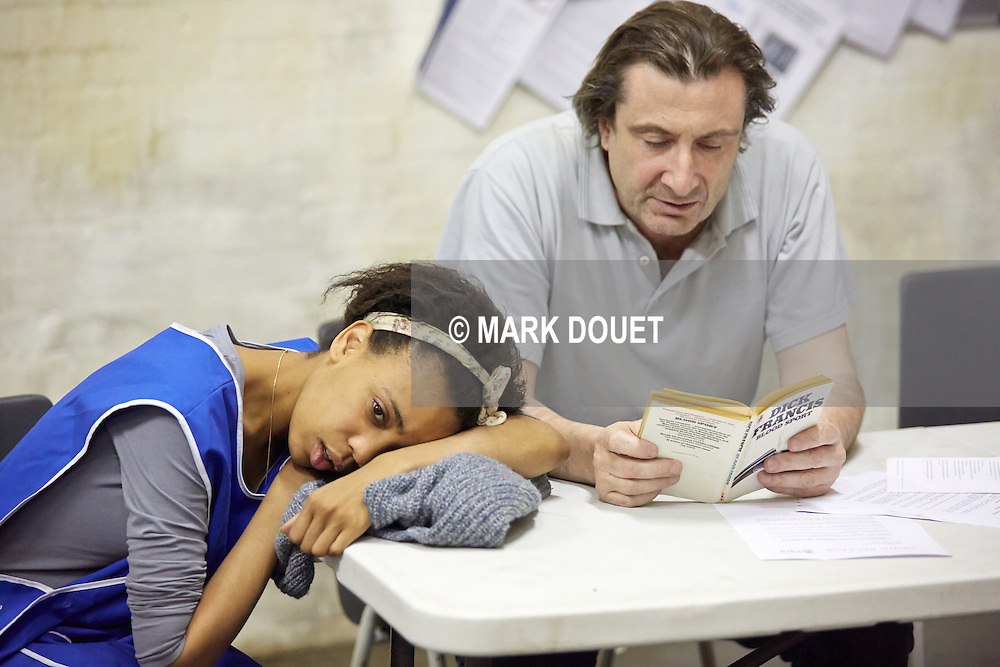 Beyond Caring at the Yard Theatre. Director Alexander Zeldin