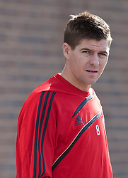 10.03.2010, Melwood Training Ground, Liverpool, ENG, UEFA EL, Liverpool FC Training, im Bild Liverpool's captain Steven Gerrard MBE, EXPA Pictures © 2010, PhotoCredit: EXPA/ Propaganda/ D. Rawcliffe / for Slovenia SPORTIDA PHOTO AGENCY.