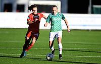 Fotball , 28. september 2017 ,  Toppserien ,  Røa - Klepp<br />  Tameka Butt   , Klepp<br /> KRISTINE BJØRDAL LEINE , RØA