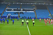 Minute Silence during the EFL Sky Bet Championship match between Sheffield Wednesday and Millwall at Hillsborough, Sheffield, England on 7 November 2020.