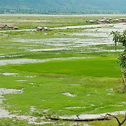 Inle Lake on rainy season