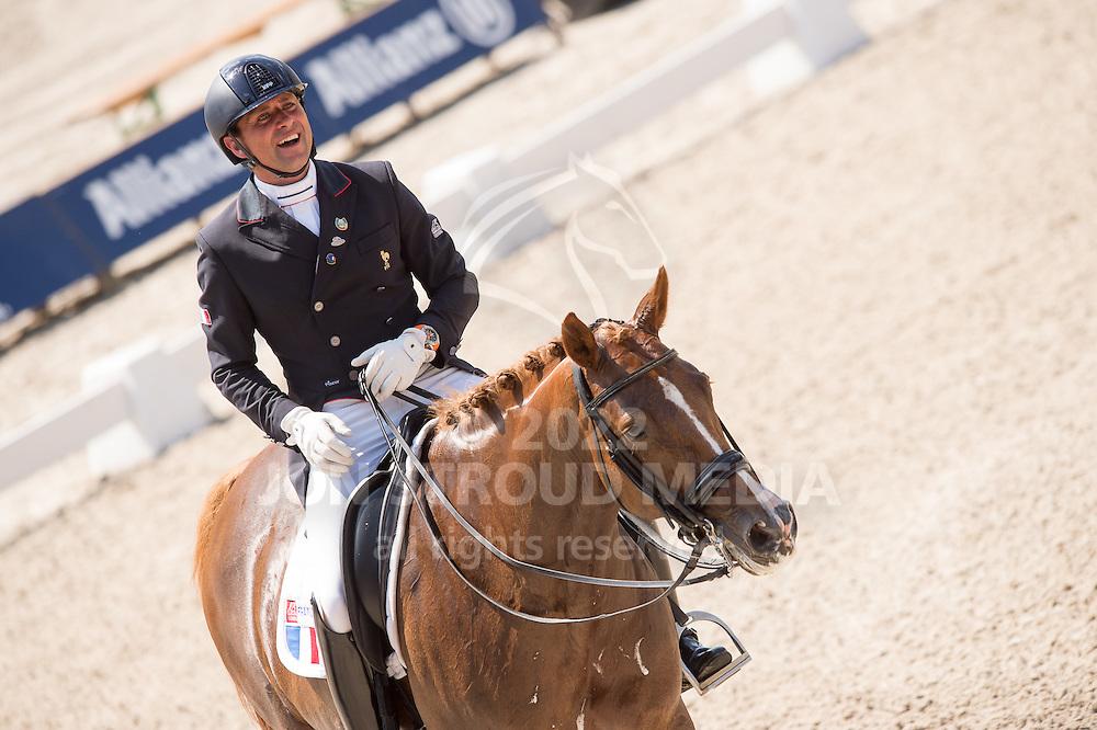Pierre Volla (FRA) & Badina Altena - Dressage Grand Prix - CDIO5 - CHIO Rotterdam 2016 - Kralingse Bos, Rotterdam, Netherlands - 23 June 2016