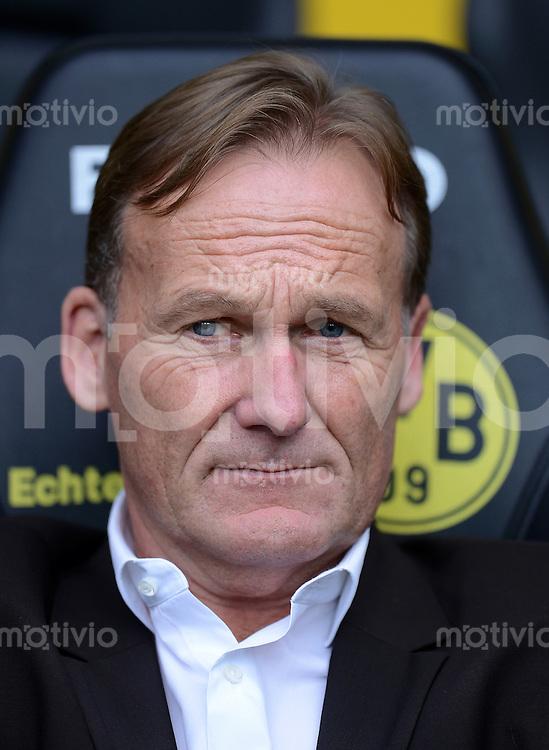 Fussball 1. Bundesliga :  Saison   2012/2013   8. Spieltag  20.10.2012 Borussia Dortmund - FC Schalke 04 Hans - Joachim Watzke (Geschaeftsfuehrer Borussia Dortmund)