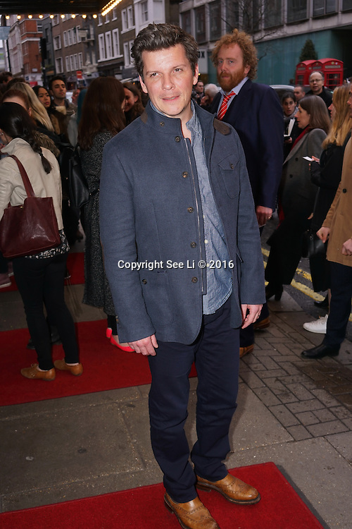 London,England, UK : 25th April 2016 : Nigel Harman attend the Doctor Faustus – Gala Opening Night at the Duke of York's Theatre, St Martin's Lane , London. Photo by See Li