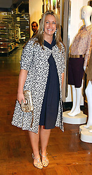 ANYA HINDMARCH at a party hosted by Elizabeth Saltzman and Harvey Nichols to celebrate the UK launch of New York fashion designer Tory Burch held at the Fifth Floor Restaurant, Harvey Nichols, Knightsbridge, London on 24th May 2006.<br /><br />NON EXCLUSIVE - WORLD RIGHTS