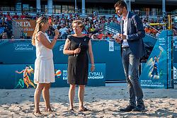 15-07-2018 NED: CEV DELA Beach Volleyball European Championship day 1<br /> Start of the DELA EC Beach Volleyball 2018 / Rebekka de Kogel-Kadijk, Bas van de Goor