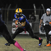 Laney High School hosted New Hanover High School in football Friday October 17, 2014. (Jason A. Frizzelle)