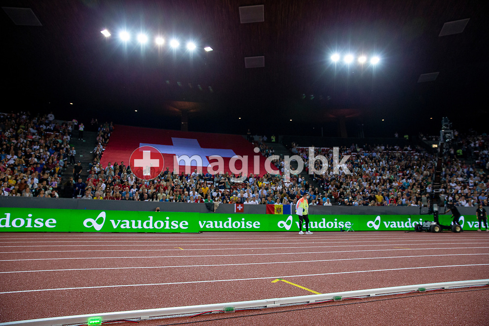 Genera view during the 1500m Men during the Iaaf Diamond League meeting (Weltklasse Zuerich) at the Letzigrund Stadium in Zurich, Switzerland, Thursday, Sept. 9, 2021. (Photo by Patrick B. Kraemer / MAGICPBK)