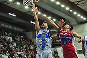 DESCRIZIONE : Campionato 2014/15 Dinamo Banco di Sardegna Sassari - Victoria Libertas Consultinvest Pesaro<br /> GIOCATORE : Brian Sacchetti Nicolo Basile<br /> CATEGORIA : Tiro Penetrazione<br /> SQUADRA : Dinamo Banco di Sardegna Sassari<br /> EVENTO : LegaBasket Serie A Beko 2014/2015<br /> GARA : Dinamo Banco di Sardegna Sassari - Victoria Libertas Consultinvest Pesaro<br /> DATA : 17/11/2014<br /> SPORT : Pallacanestro <br /> AUTORE : Agenzia Ciamillo-Castoria / M.Turrini<br /> Galleria : LegaBasket Serie A Beko 2014/2015<br /> Fotonotizia : Campionato 2014/15 Dinamo Banco di Sardegna Sassari - Victoria Libertas Consultinvest Pesaro<br /> Predefinita :