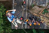 Laos, Zipline Canopy Tour