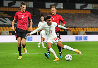 Football - 2021 UEFA European Under-21 Championships - Qualifying - Group 3 - England vs Albania - Molyneux<br /> <br /> Jamal Musiala of England scores goal no 3<br /> <br /> COLORSPORT/ANDREW COWIE