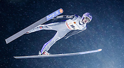 22.02.2016, Puijo, Kuopio, FIN, FIS Weltcup Ski Sprung, Kuopio, Teamspringen, im Bild Andreas Wellinger (GER) // Andreas Wellinger of Germany during Mens Teamevent of Kuopio FIS Skijumping World Cup at the Puijo in Kuopio, Finland on 2016/02/22. EXPA Pictures © 2016, PhotoCredit: EXPA/ Tadeusz Mieczynski