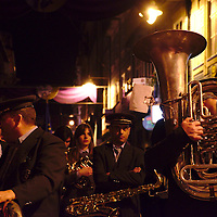 Band taking part of the Ecce Homo procession