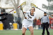 SHOT 4/6/18 2:25:19 PM - Colorado's Darby Kiernan #25 shoots on net against Southern California's during their Pac-12 matchup at Kittridge Field in Boulder, Co. Colorado (#18) beat Southern California (#16) 10-7. (Photo by Marc Piscotty / © 2018)