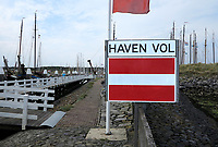 VLIELAND - haven van Vlieland is vol. . ANP COPYRIGHT KOEN SUYK