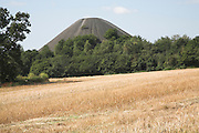 Slag heap from former coal mining in the Somerset coalfield, Midsomer Norton, Somerset, England