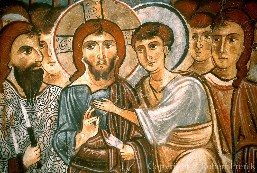 TURKEY, CAPPADOCIA Karanlik Kilise; Judas' betrayal