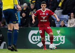 Patrick da Silva (Lyngby BK) under kampen i 3F Superligaen mellem Brøndby IF og Lyngby Boldklub den 1. marts 2020 på Brøndby Stadion (Foto: Claus Birch).