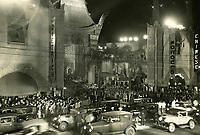 1930 Premiere of Morocco at Grauman's Chinese Theater