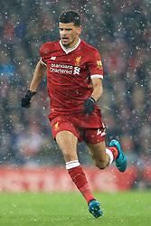 10th December 2017 - Premier League - Liverpool v Everton - Dominic Solanke of Liverpool - Photo: Simon Stacpoole / Offside.