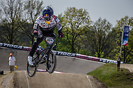 #224 (CHRISTENSEN Chris) DEN at the 2016 UCI BMX Supercross World Cup in Papendal, The Netherlands.
