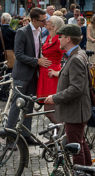September 2, 2017 - Malmo, Sweden - Malmö, Sweden. 2nd September, 2017. Annual Tweed Ride taking place in the center of the city. (Credit Image: © Tommy Lindholm/Pacific Press via ZUMA Wire)