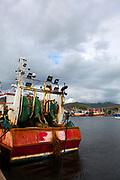 Stern trawler in Dingle, Kerry, Ireland