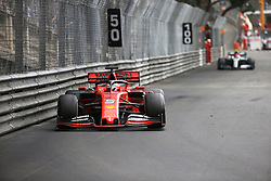 May 26, 2019 - Monte Carlo, Monaco - xa9; Photo4 / LaPresse.26/05/2019 Monte Carlo, Monaco.Sport .Grand Prix Formula One Monaco 2019.In the pic: Sebastian Vettel (GER) Scuderia Ferrari SF90 and Valtteri Bottas (FIN) Mercedes AMG F1 W10 (Credit Image: © Photo4/Lapresse via ZUMA Press)