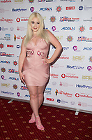 Jodie Weston, at the Sapper Support celebrity charity event for the launch of their brand-new PTSD support lanyard at The Army & Navy Club, London