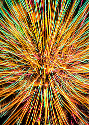 A Bold Abstraction From Firework Lines