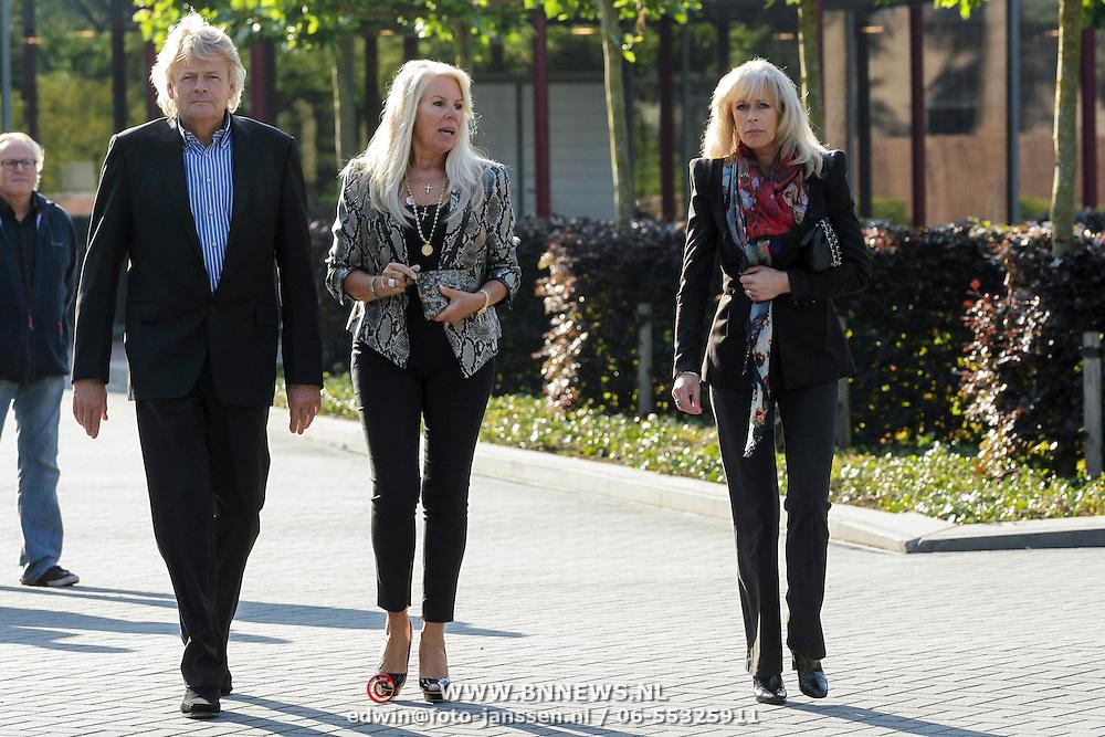 NLD/Bilthoven/20120618 - Uitvaart Will Hoebee, Marga Scheide en partner Michiel Gunning en Marga Bult