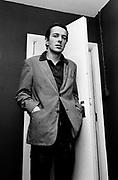 Joe Strummer - The Clash backstage at the London Lyceum 1981