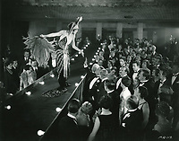 1931 Filming a movie at the Hollywood Music Box Theater