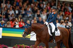 Witte-Vrees Madeleine, NED, Cennin<br /> Nederlands Kampioenschap Dressuur <br /> Ermelo 2017<br /> © Hippo Foto - Dirk Caremans<br /> 16/07/2017