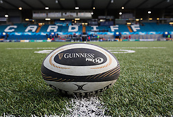 A general view of Cardiff Arms Park, home of Cardiff Blues<br /> <br /> Photographer Simon King/Replay Images<br /> <br /> Guinness PRO14 Round 15 - Cardiff Blues v Munster - Saturday 17th February 2018 - Cardiff Arms Park - Cardiff<br /> <br /> World Copyright © Replay Images . All rights reserved. info@replayimages.co.uk - http://replayimages.co.uk