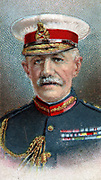 General Horace Lockwood Smith-Dorrien (1858-1930) British soldier. Commanded British II Corps and Second Army of the British Expeditionary Force in First World War. Chromolithograph.