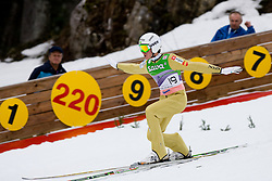 Peter PREVC of Slovenia during Flying Hill Individual First Round at 2st day of FIS Ski Jumping World Cup Finals Planica 2011, on March 17, 2011, Planica, Slovenia. (Photo By Matic Klansek Velej / Sportida.com)