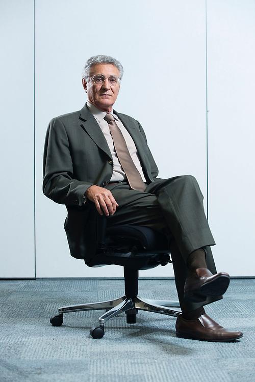 Belo Horizonte_PB, Brasil.<br /> <br /> Ex-deputado federal, Paulo Romano, que deu o ultimo voto a favor do Impeachment do Collor em 1992.<br /> <br /> Former deputy, Paul Romano, who gave the final vote for the Collor impeachment in 1992.<br /> <br /> Foto: LEO DRUMOND / NITRO