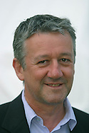 BBC journalist Allan Little, pictured at the Edinburgh International Book Festival, where he took part in a discussion about war reporting. The book festival was a part of the Edinburgh International Festival, the largest annual arts festival in the world.
