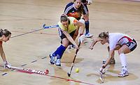 ALMERE - Training Nederlands Zaalhockeyteam dames  voor WK in Polen. ANP COPYRIGHT KOEN SUYK
