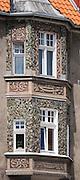 Olsztyn, 2014-05-18. Rynek Starego Miasta - detal architektoniczny.
